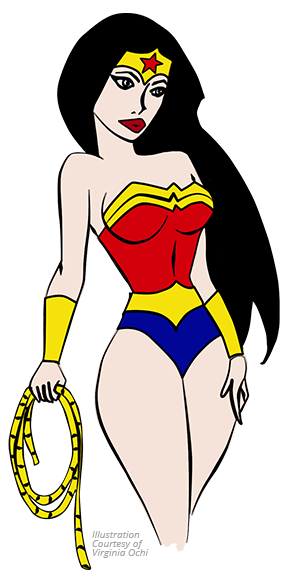 Superhero: Wonder Woman Plastic Surgery