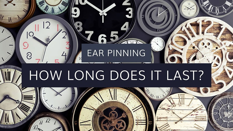 how long does ear pinning last